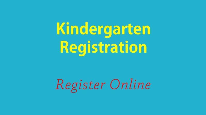Register now for Kindergarten! Featured Photo