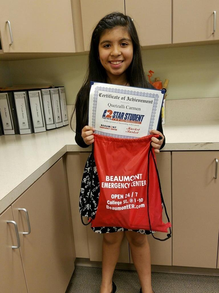 Channel 12 STAAR Students – Students – Staff Sgt  Lucian