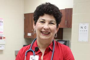 Nurse Sylvia Frank CLHS