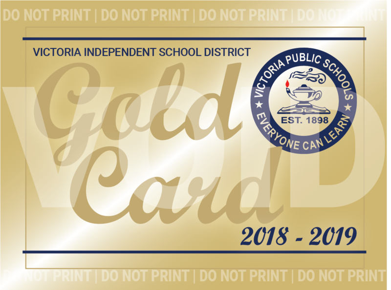 VISD Gold Card Club Program Thumbnail Image