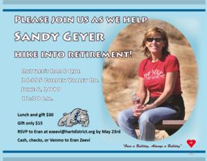Geyer retirement flyer
