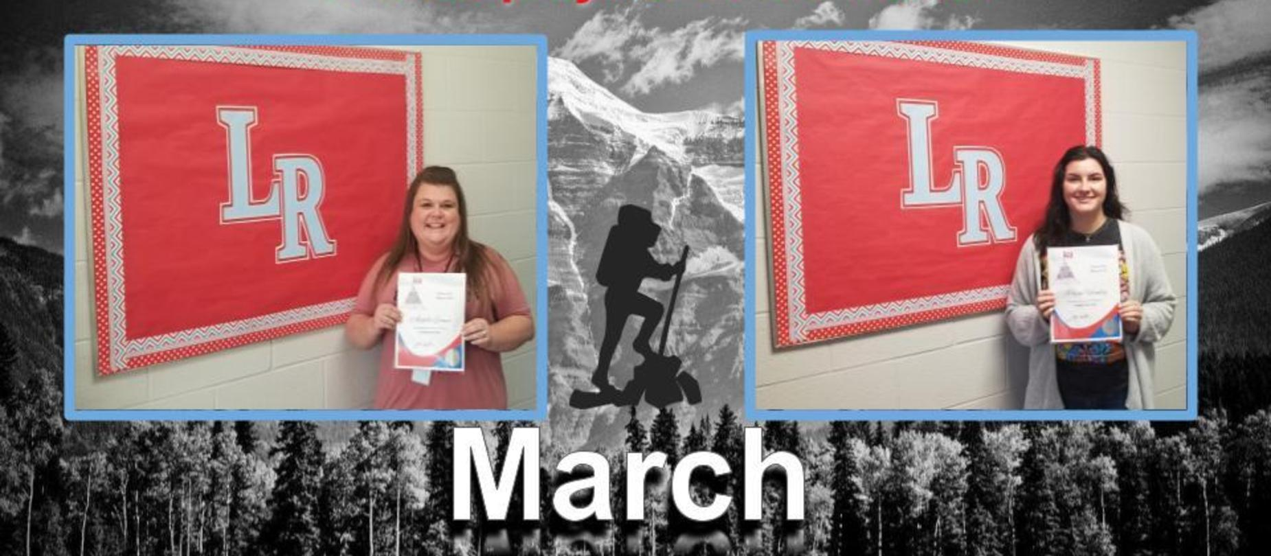 March Employees of the Month
