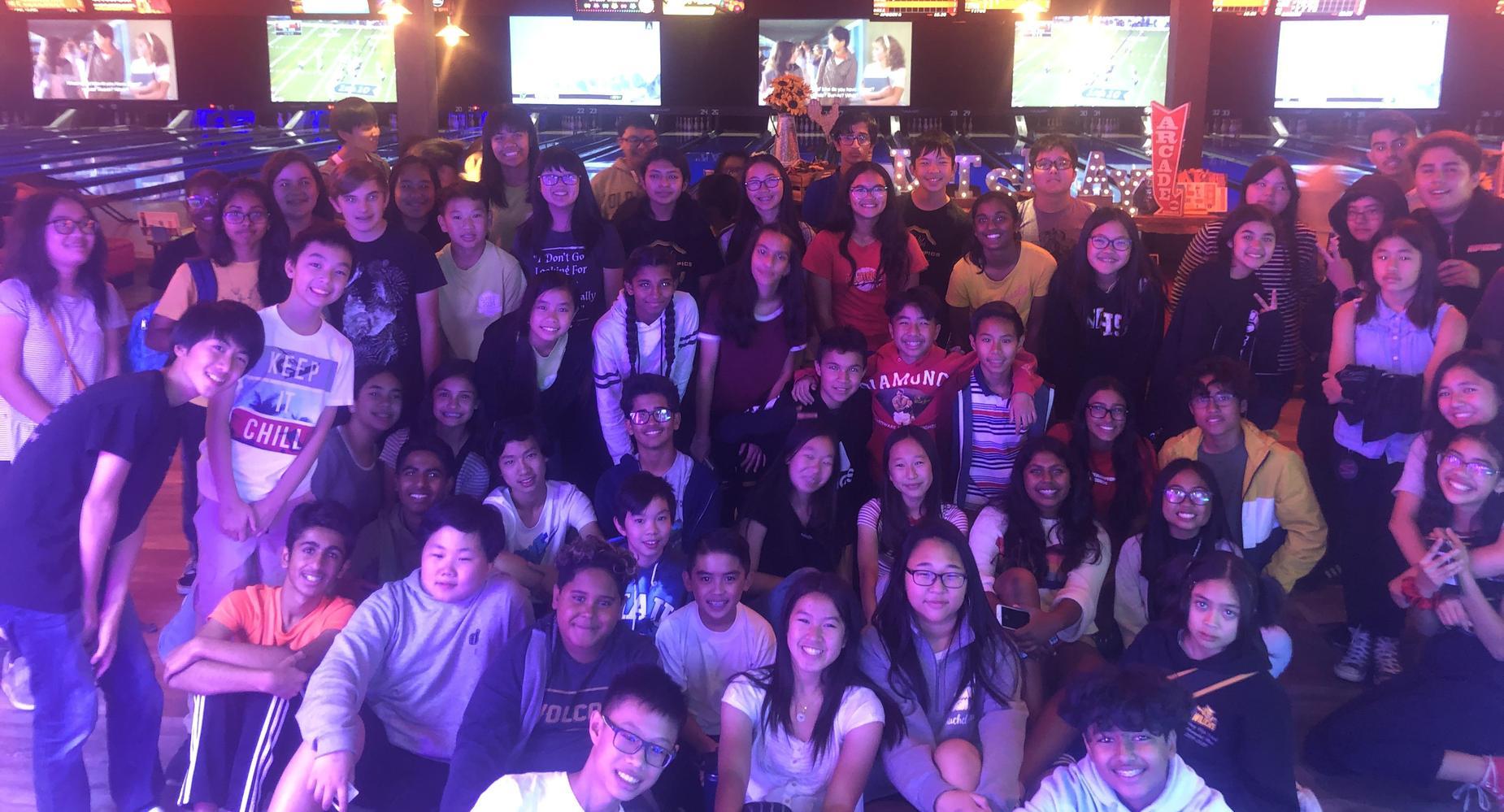 Class of 2025 bowling trip
