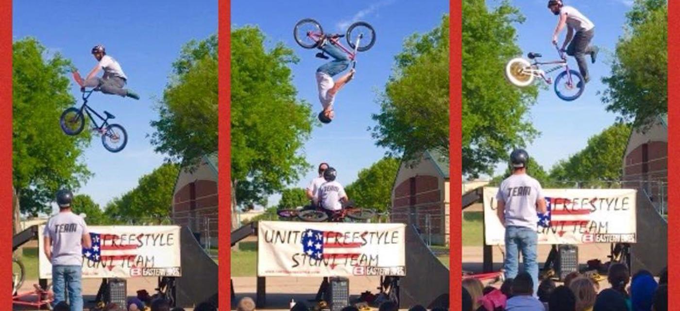 United Freestyle stunt team