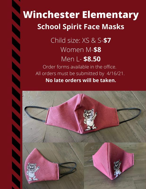 Mask Fundraiser.  Flyers are available in the office.