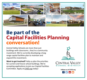 CVSD Capital Facilities graphic