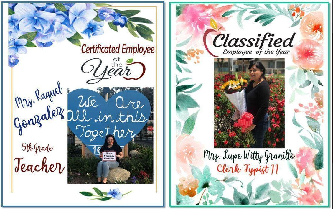2019- 2020 Employees of the Year
