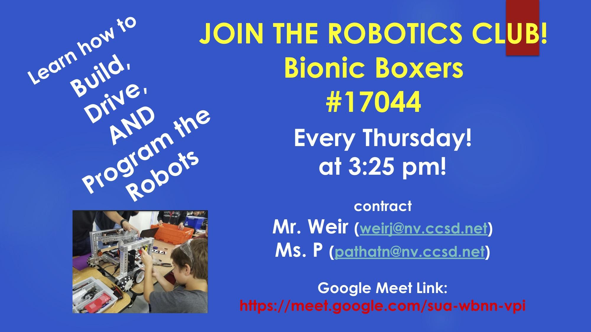 EMS Robotics Club