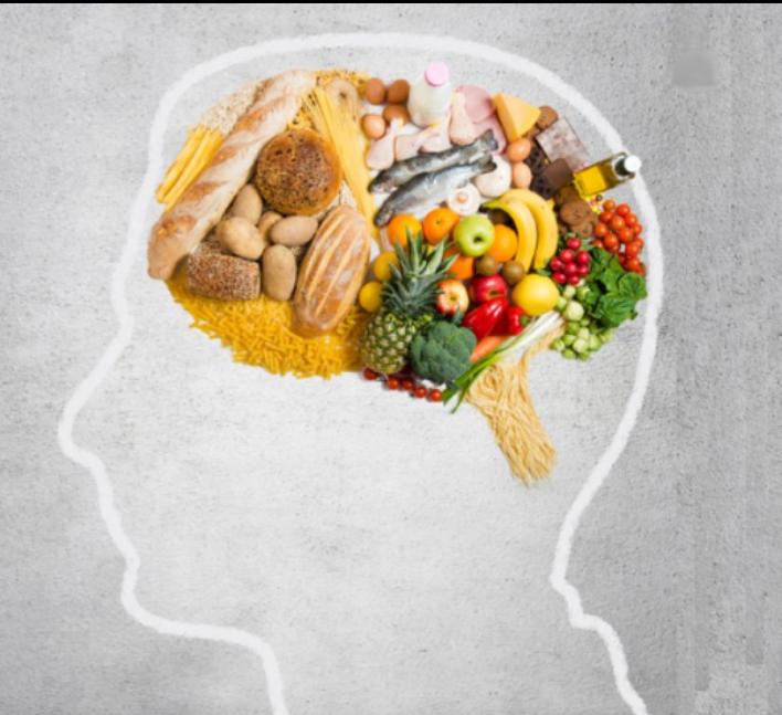 Brain full of food
