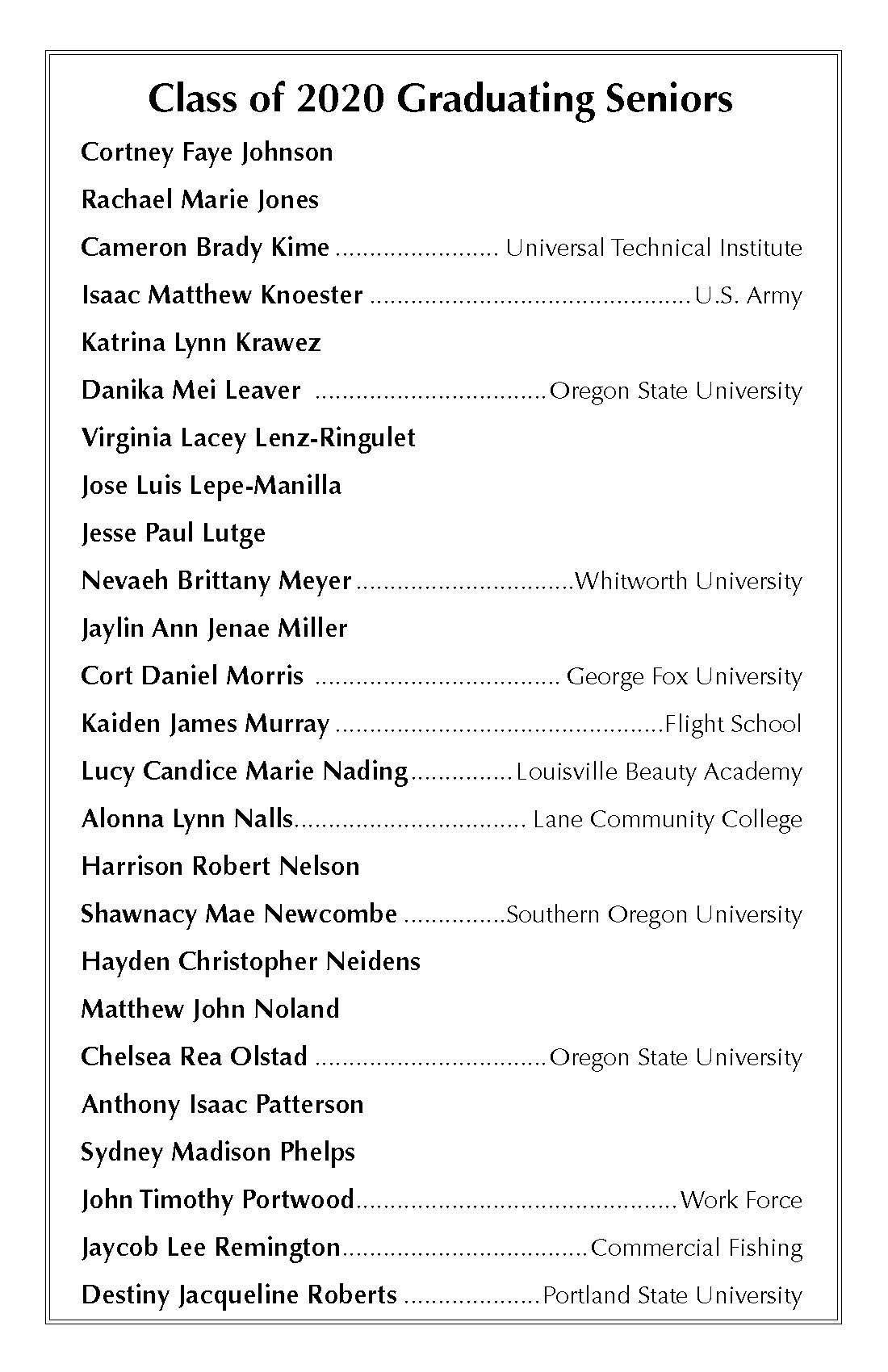 BHHS Grad Program Page 5