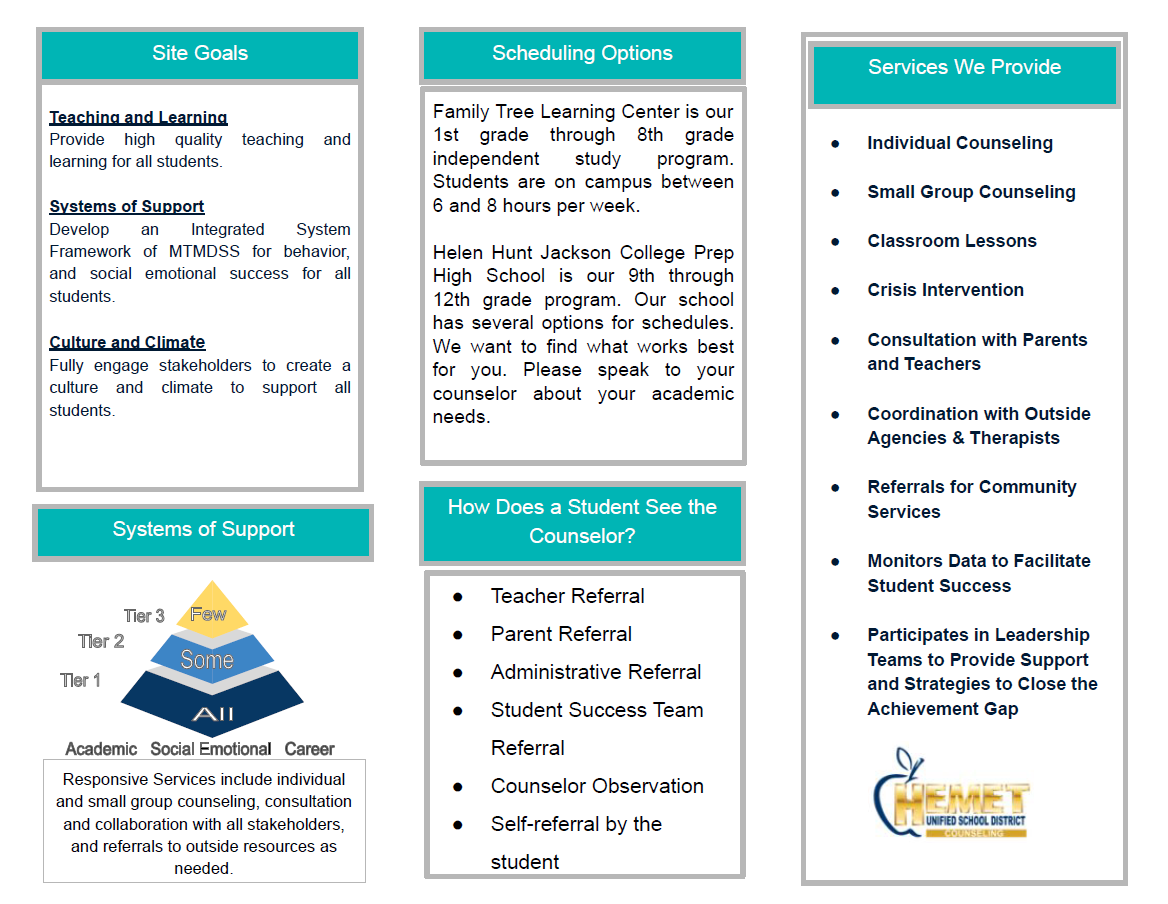 Counseling Brochure 2