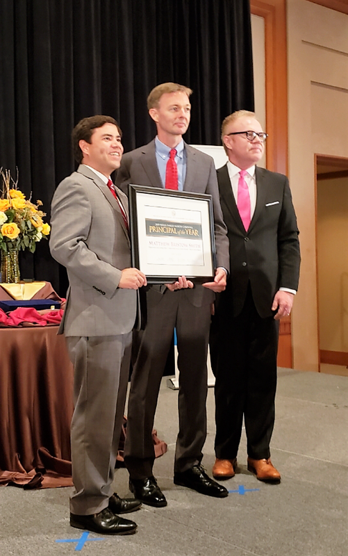 Matt Smith named 2019 North Carolina Principal of the Year Thumbnail Image