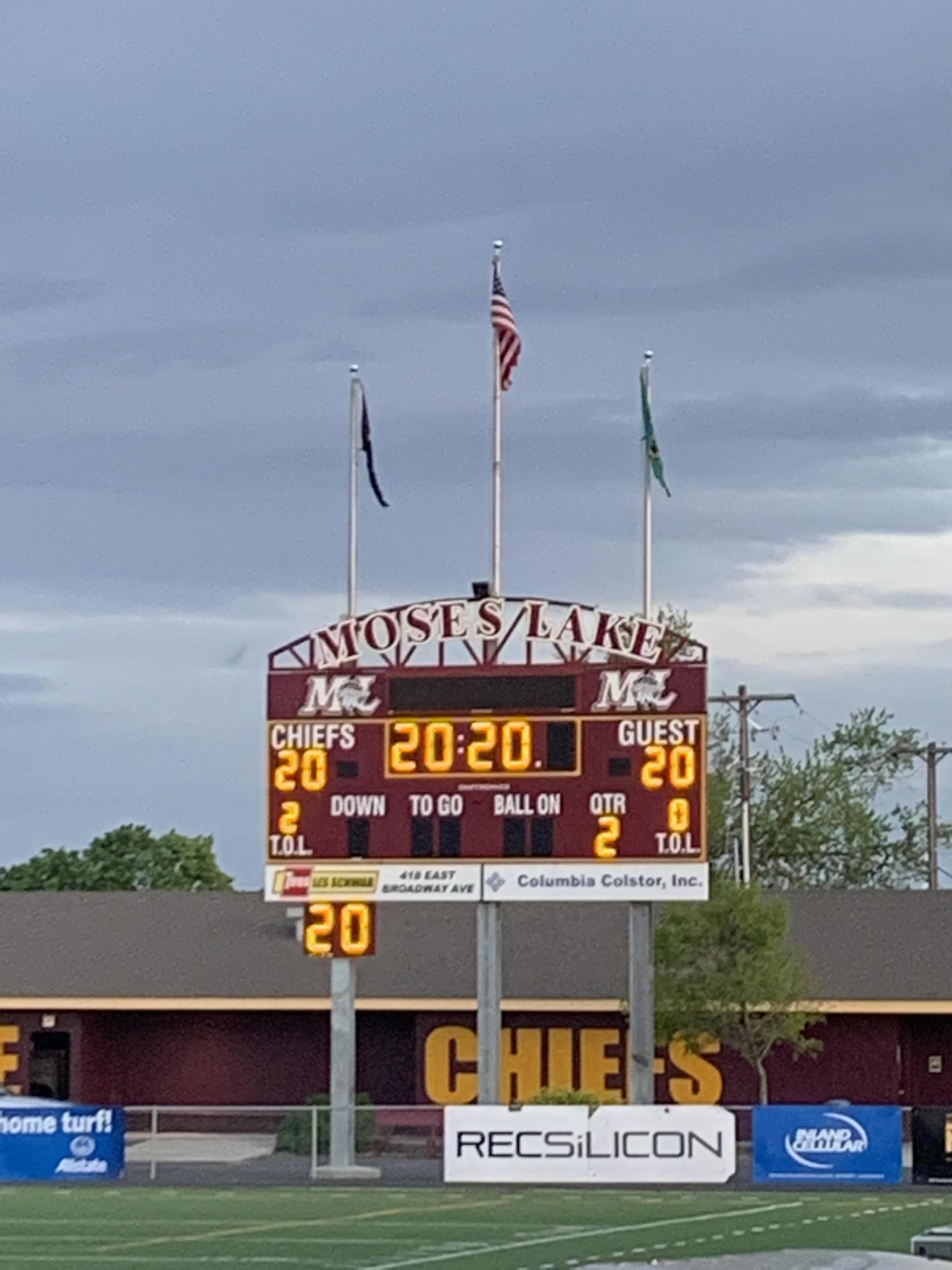 Picture of scoreboard