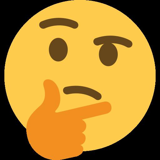 """""""Hmmm"""" emoji"""