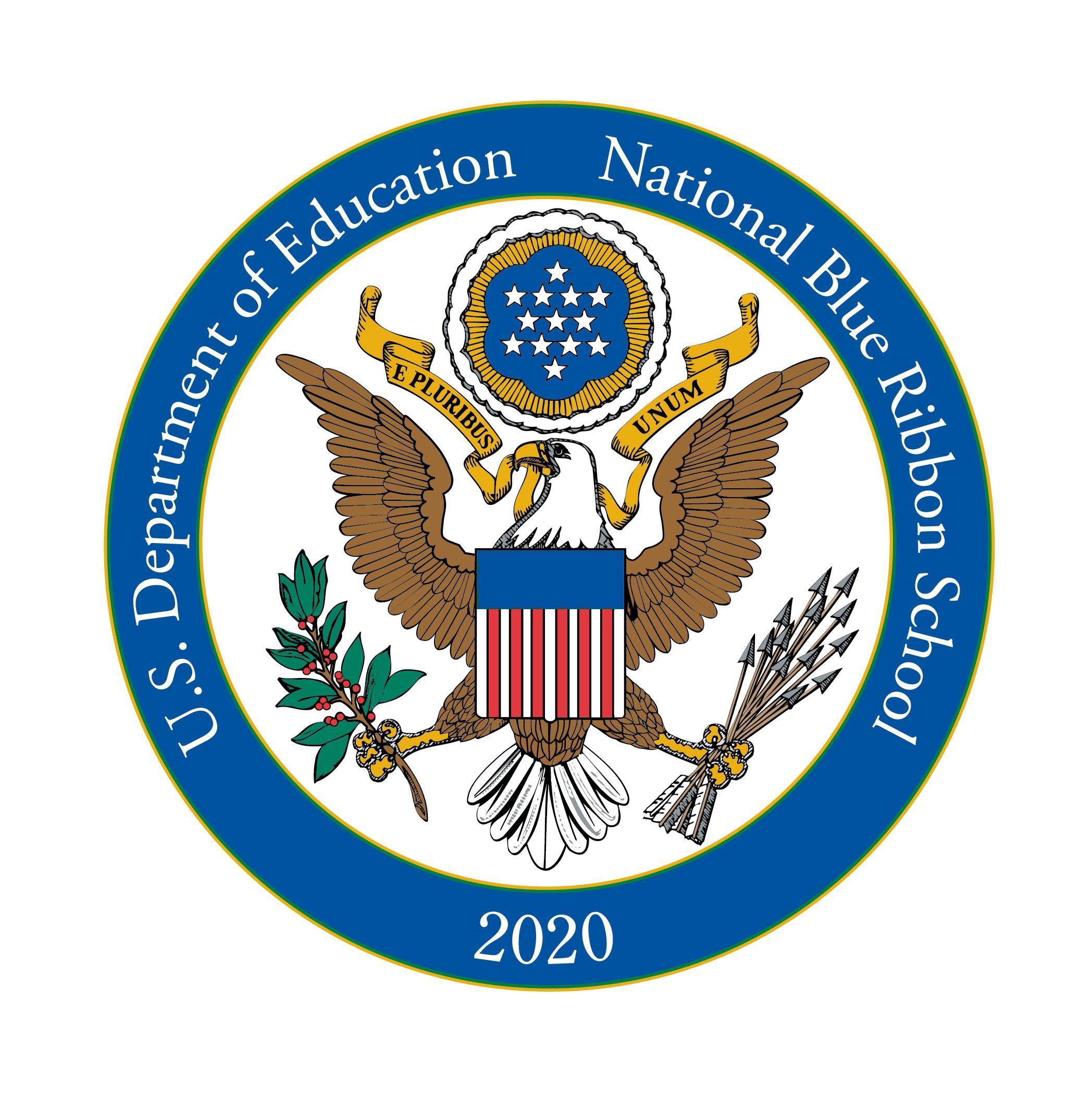 National Blue Ribbon symbol