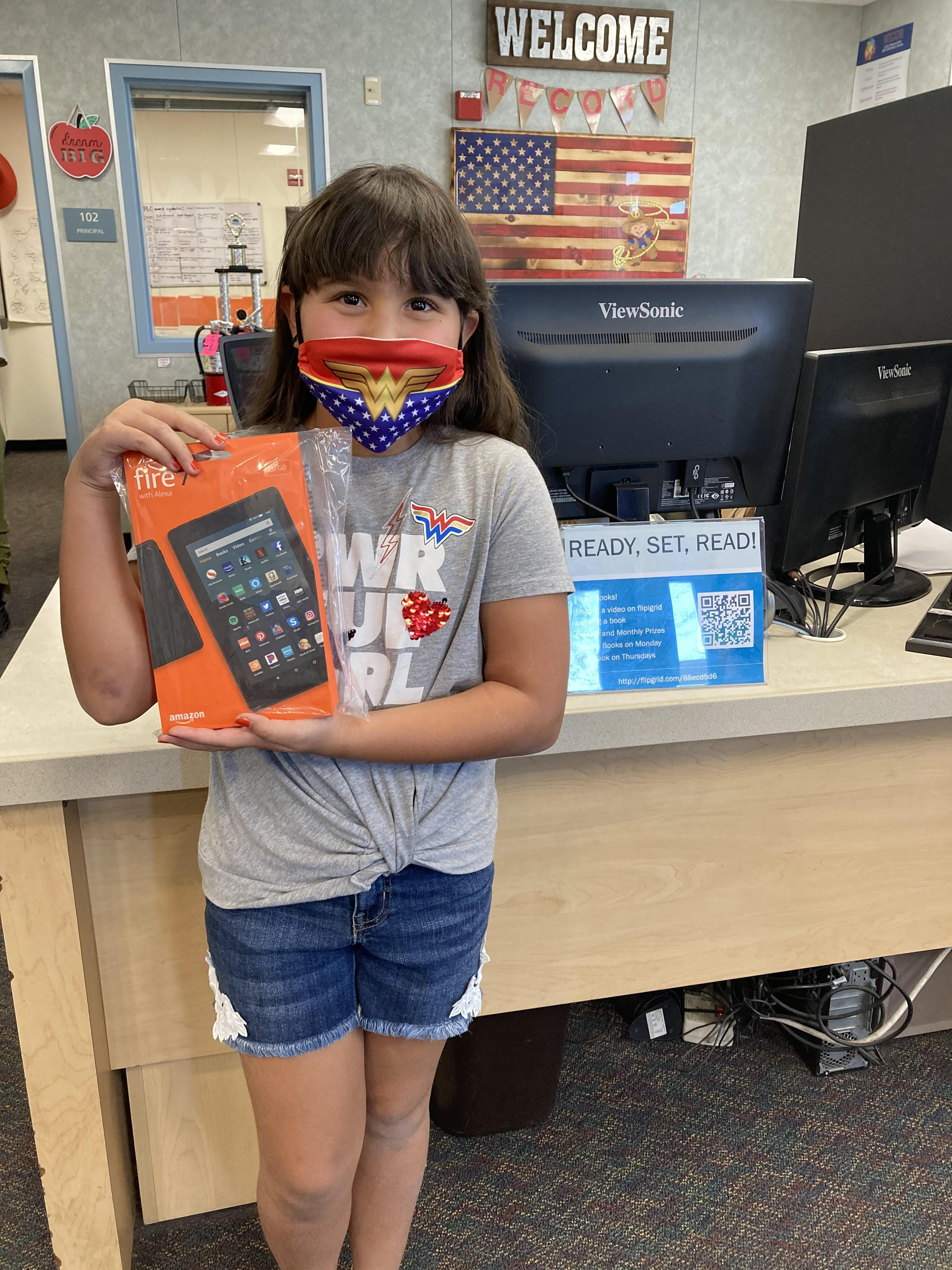 Krystina Rodriguez, Grade 5 - Mrs. Kurylowicz's Class - Amazon Fire Tablet