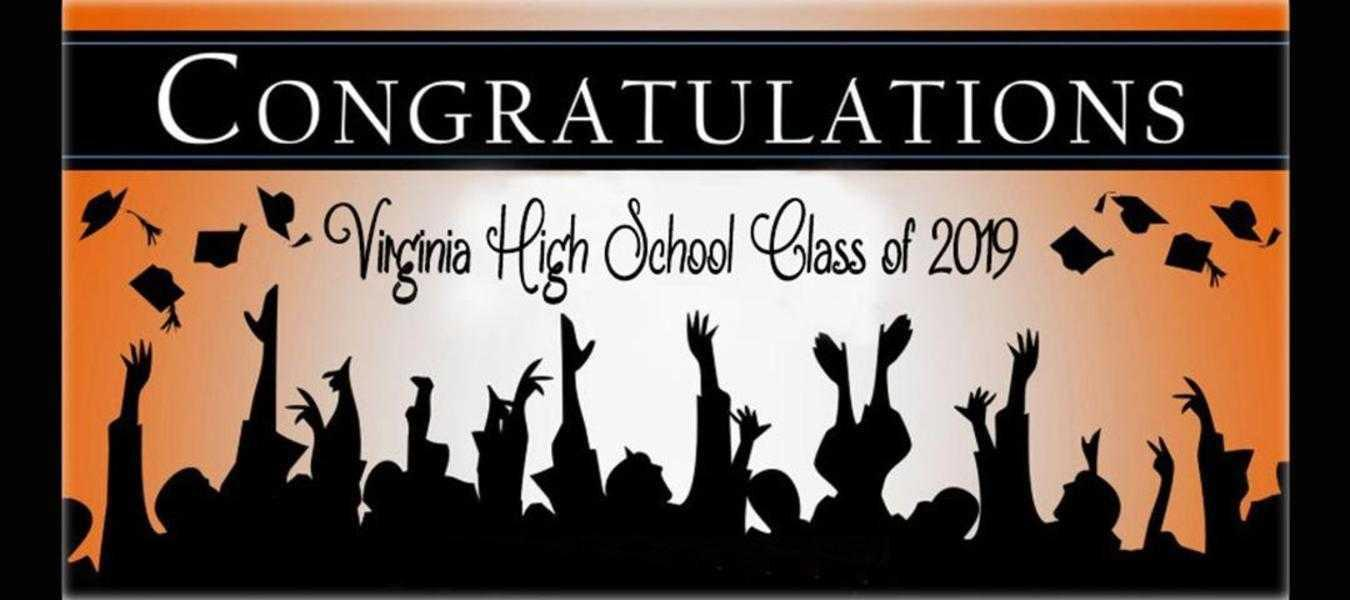 Congratulations Virginia High School Class of 2019!