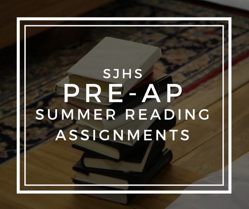 Pre-AP Summer Reading Assignments Thumbnail Image