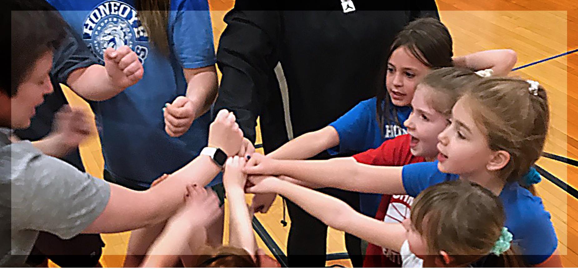 K-2 Girls Biddy Basketball program