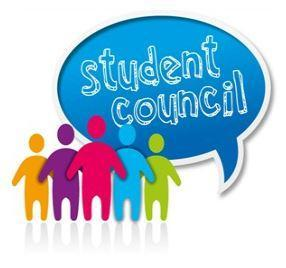 BMS Student Council logo cartoon
