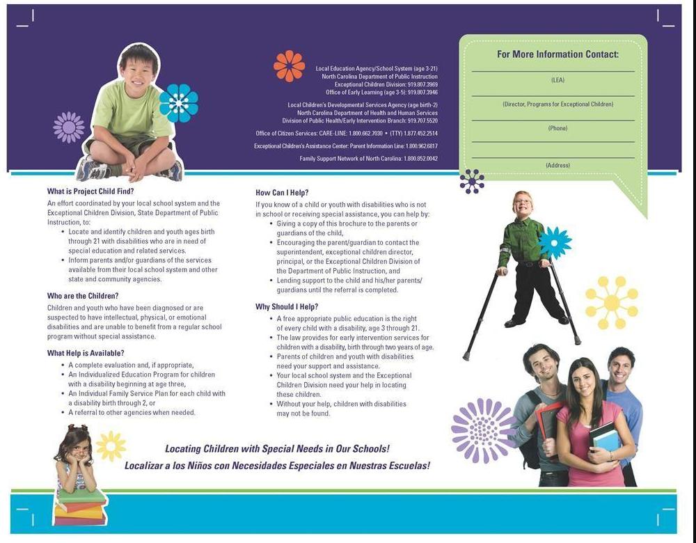 ChildFind Brochure