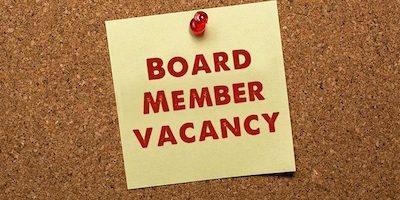 board member vacancy