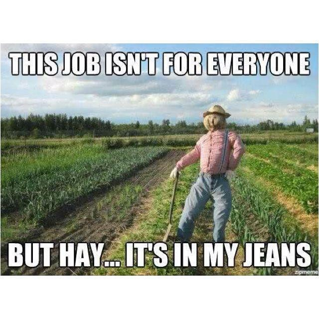 This job isn't for everyone, but it's in my jeans