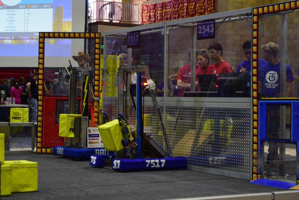 Practice robot pre-match