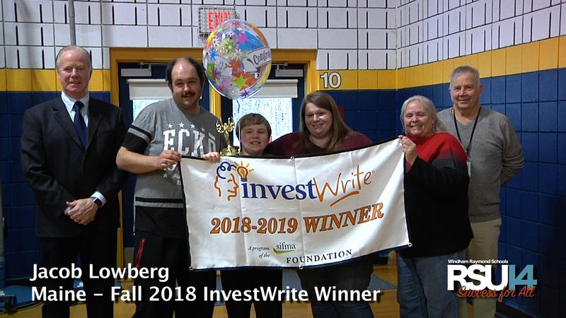 InvestWrite Winner Jacob Lowberg