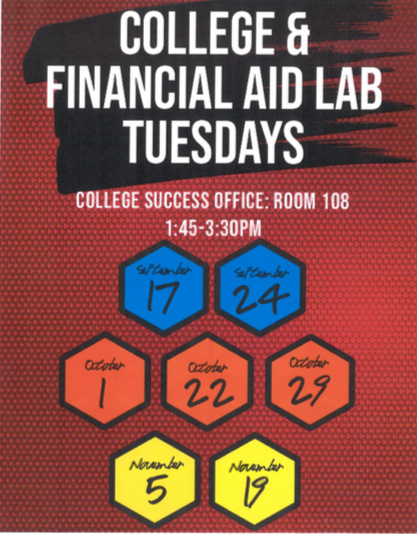 Senior: College and Financial Aid Lab (Tuesdays) Thumbnail Image