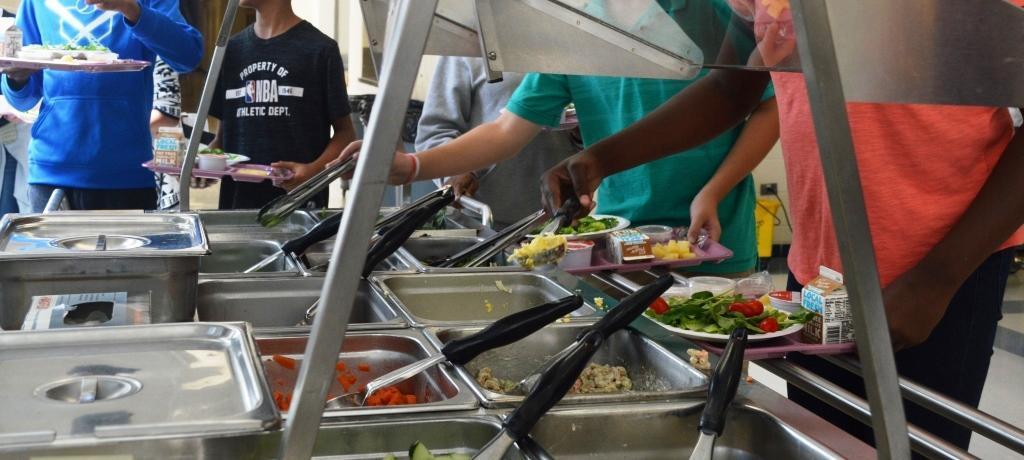 lunch room salad bar