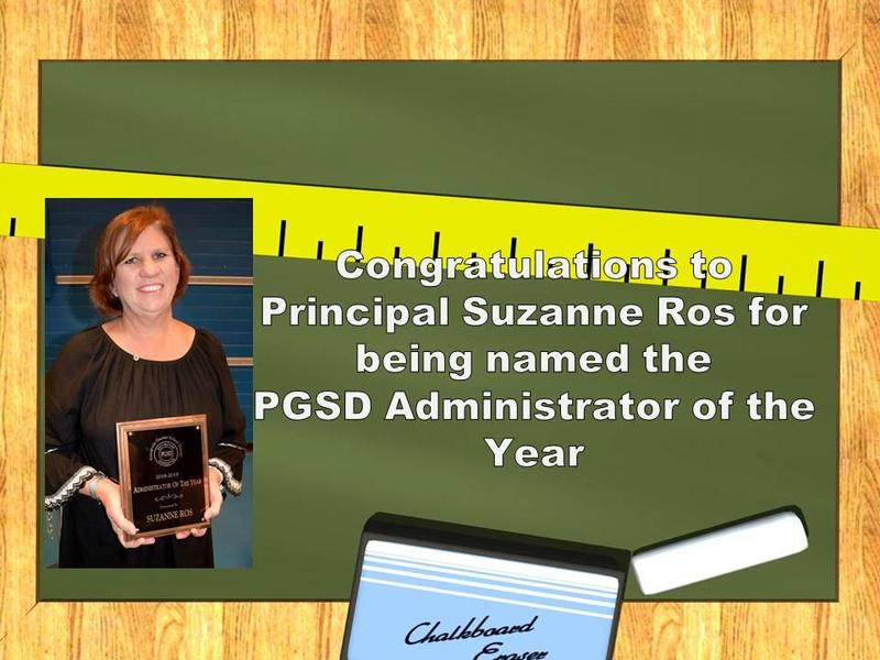 PGSD Administrator of the Year