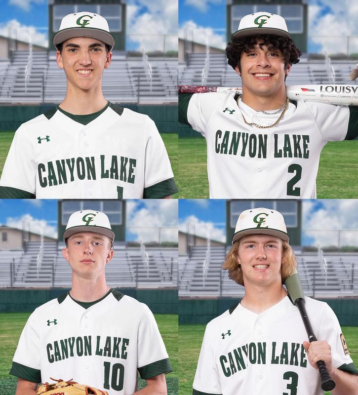 CLHS All-Star baseball players 2021
