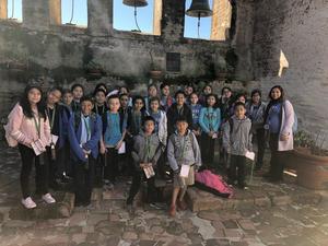 4th gr field trip to Mission San Juan Capistrano