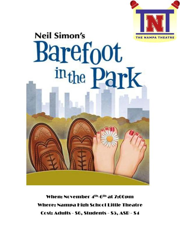 Barefoot in the Park Flyer