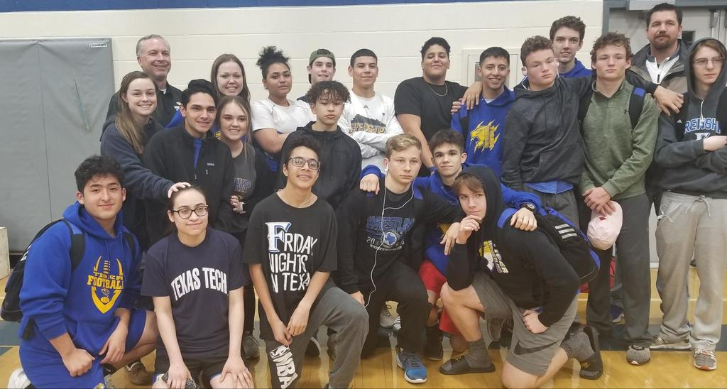 Great Showing @ our first District Tournament