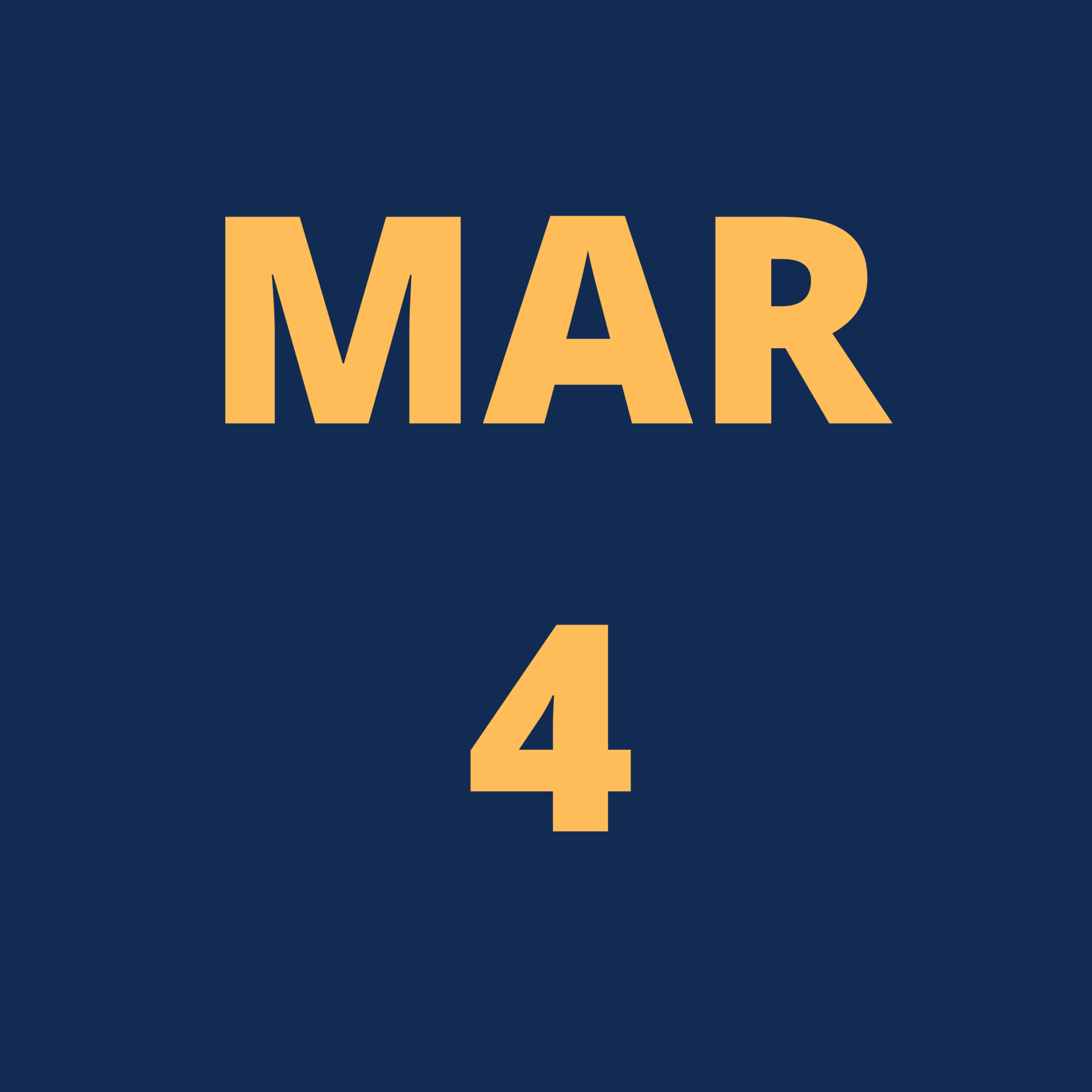 march 1 icon