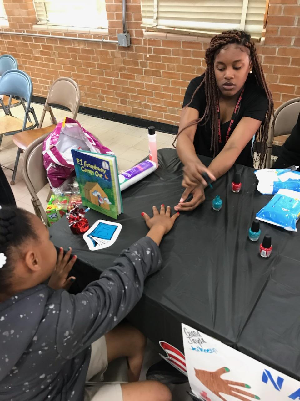 Photo from Super Scientist Day, held at Baker Middle School on March 2, 2018