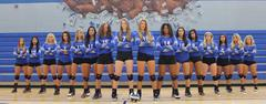 The 2017 Lady Bear Volleyball Team