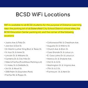 WiFi Locations