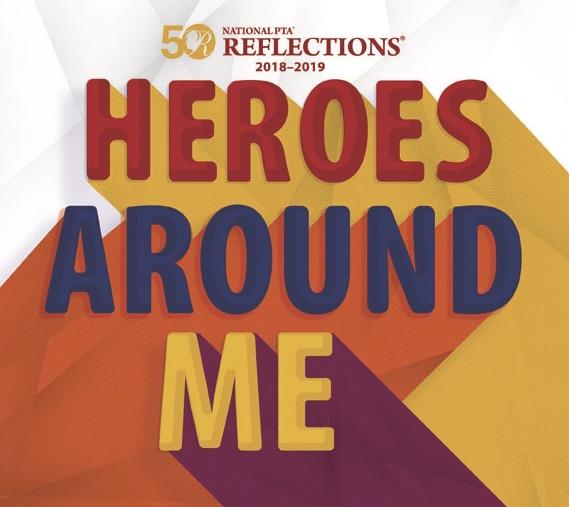 The PTA Reflections Art Contest has begun! Thumbnail Image