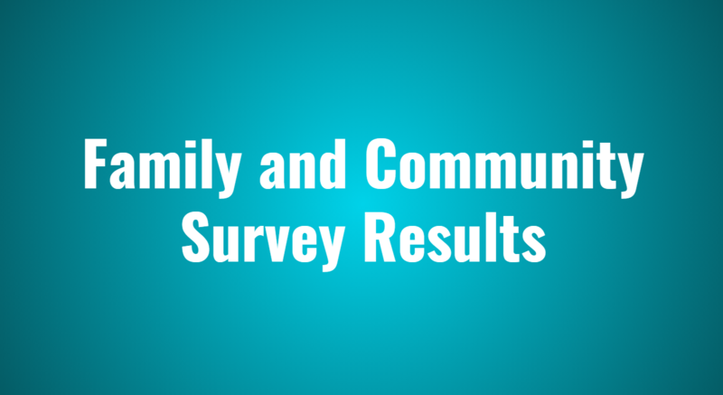 Family and Community Input Survey Results Featured Photo