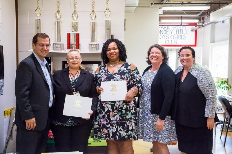 Pair of volunteers honored for making a difference in Newport Featured Photo