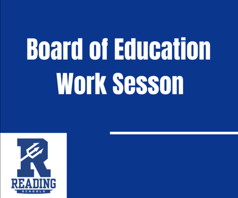 Board of Education Work Session Meeting