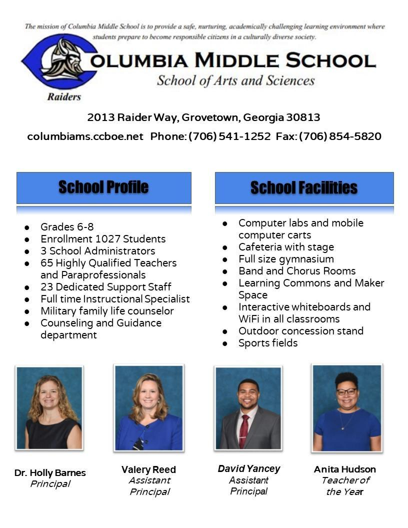 School Profile CMS 1
