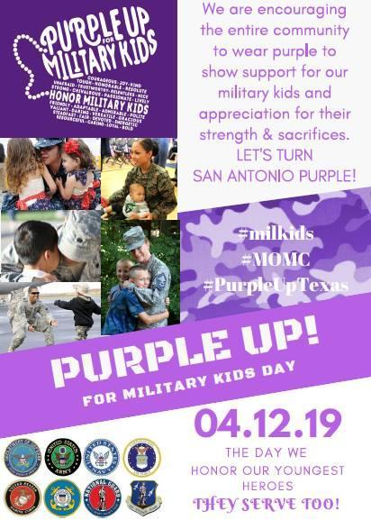 Purple Up! Flyer