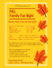 Fall Family Fun Night