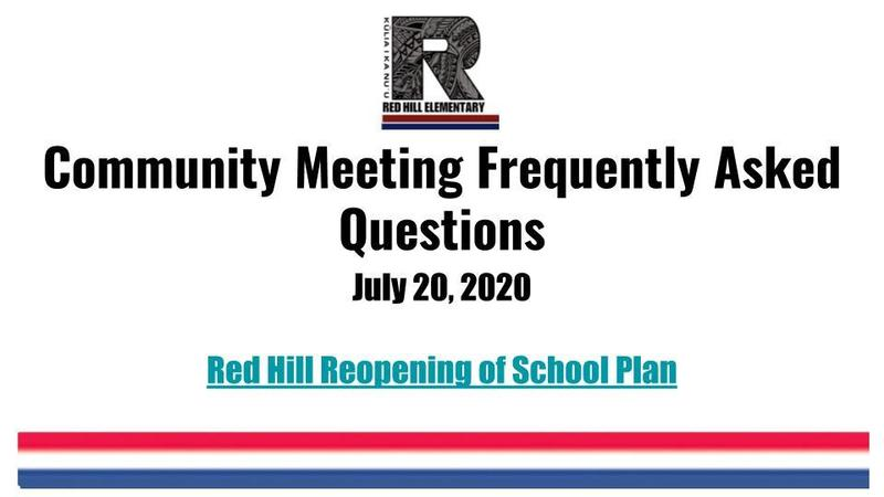 Community Meeting Notes (7/20/20) Featured Photo