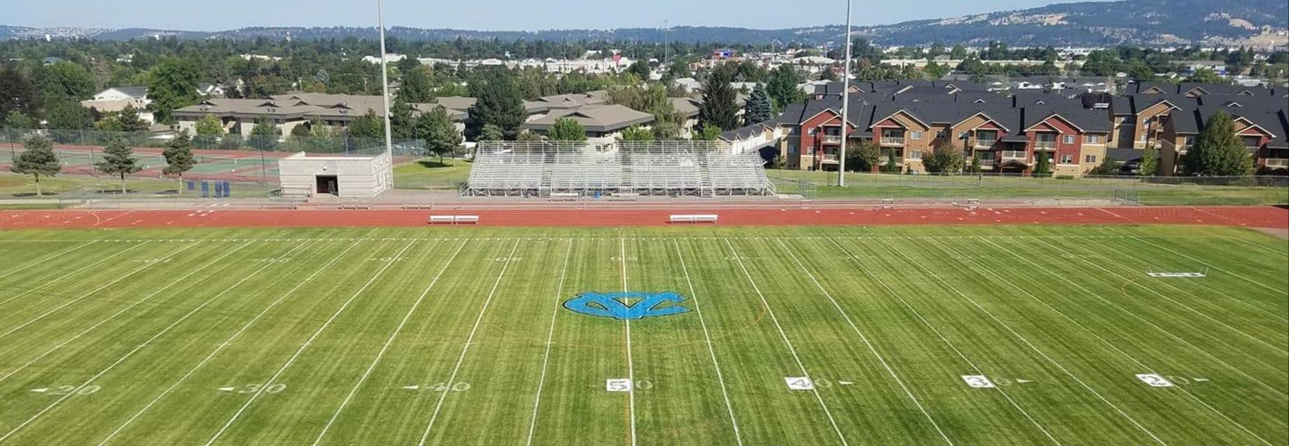 CVHS Field ready for the 2018-19 Season