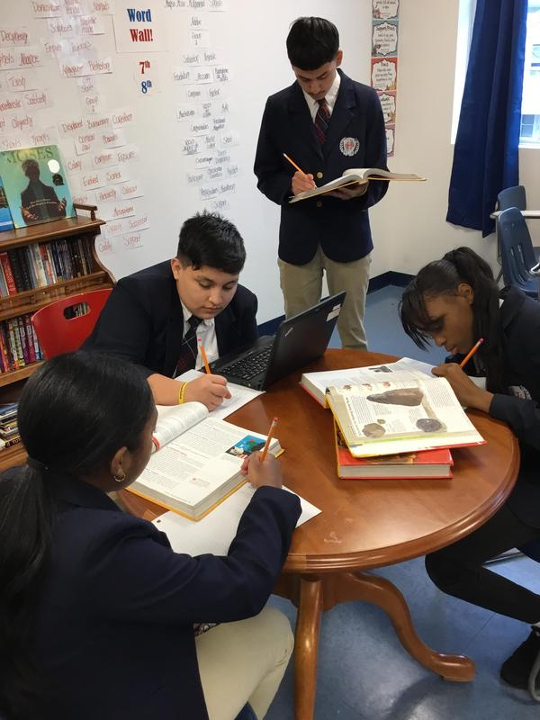 Picture of Students studying.